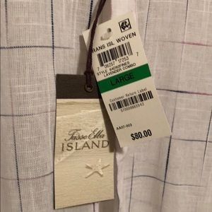 Tasso Elba Shirts - New Tasso Elba Island casual button down shirt